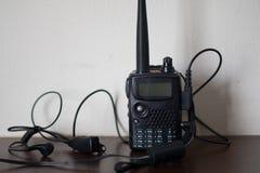 Walkietalkie dos rádios portáteis imagens de stock