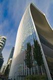 Walkietalkie que construye Londres Jardín del cielo Imagen de archivo