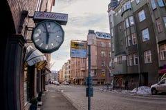 Walkin durch die alte Nordstadt stockbilder