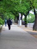 Walking. In Melbourne, Australia Stock Photo