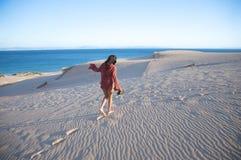 Walking with african horizon Royalty Free Stock Image