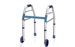 Walking aid using by handicaps Royalty Free Stock Photography
