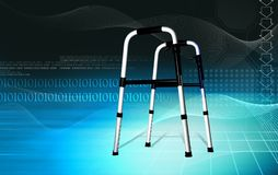 Walking aid using by handicaps Stock Image