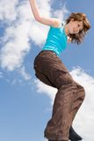 Walking in the air Royalty Free Stock Photo