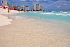 mexico, cancun beach Stock Images