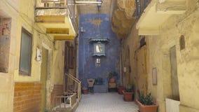 Walking along the medieval streets of Valletta, Malta. Walking along the medieval streets of Valletta, Malta stock video