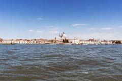 Walking along the narrow streets and canals of Venice, Italy Royalty Free Stock Image