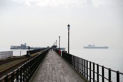 Southend pier Stock Image
