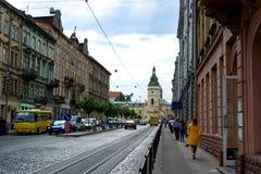Nice street stock image