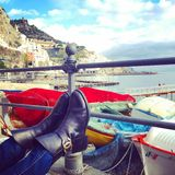 Walking in Amalfi Royalty Free Stock Photography