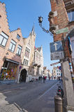 Walking Around Brugge Stock Photo