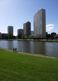 Walking Around Lake Merritt, Oakland Stock Photography