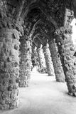 Walking around Park Guell in Barcelona Royalty Free Stock Image