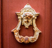 Walking around Petermaai - door knocker Stock Image