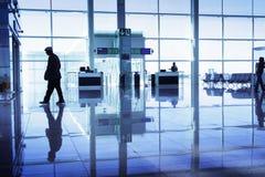Free Walking At The Airport Stock Photos - 10284163