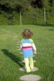 Walking away Royalty Free Stock Images
