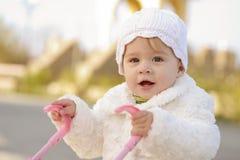Walking baby Stock Image
