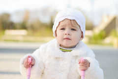 Walking baby Royalty Free Stock Images
