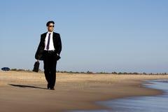 Walking in the beach Stock Photo