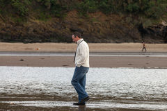 Walking on the Beach Royalty Free Stock Image