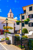Streets of Ponta do Sol. Walking the beautiful streets of Ponta do Sol in Madeira island, Portugal Stock Images