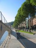 Walking in Bilbao Stock Image