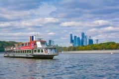 Walking boat Royalty Free Stock Images