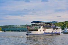 Walking boat Royalty Free Stock Image