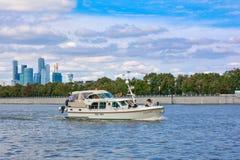Walking boat Stock Photography