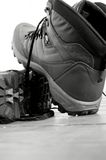Walking boots A Royalty Free Stock Photos