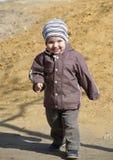 Walking boy Stock Photo