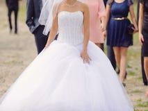 Walking Bride Stock Photos