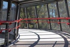 Walking Bridge. This is a path to mt cootha garden, popular tourist destination in Brisbane, Australia royalty free stock images