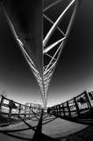 Walking Bridge. Millenium Walking Bridge in Denver Royalty Free Stock Images