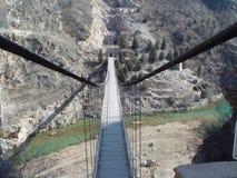 Walking bridge Royalty Free Stock Image
