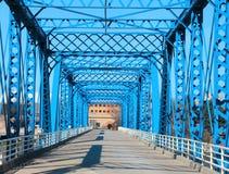 Walking bridge Stock Photography
