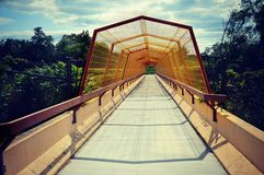 Walking Bridge Royalty Free Stock Photo