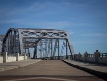 Walking bridge in Nashville Tennessee Royalty Free Stock Photography