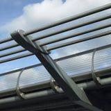 Walking Bridge Railing Stock Photography