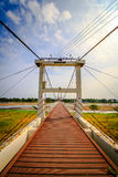 Walking bridge. Thailand in the afternoon Stock Images