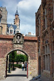 Walking in Bruges Royalty Free Stock Photography