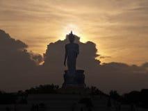 Walking Buddha image Stock Images