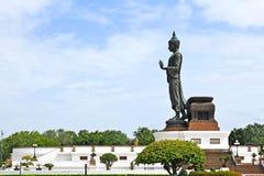 Walking Buddha image Stock Photos