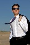 Walking business man Stock Photos
