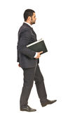 Walking business man Stock Images