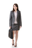 Walking business woman Royalty Free Stock Photos