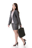 Walking business woman Royalty Free Stock Images