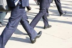 Walking_Businessman fotografia de stock royalty free