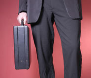 Walking businessman Royalty Free Stock Photography