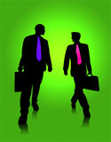 Walking Businessman Stock Photography